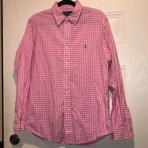 🔥Polo by Ralph Lauren custom fit button down🔥